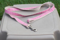 PETCO Pink & White Dotted Dog Leash uploaded by Ayla A.