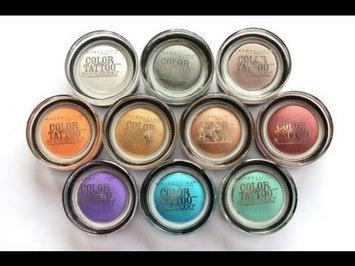 Maybelline Eyestudio® ColorTattoo® Leather 24 Hour Cream Gel Eye Shadow uploaded by maria laura d.