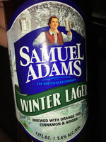 Samuel Adams Winter Lager  uploaded by Rebecca Z.