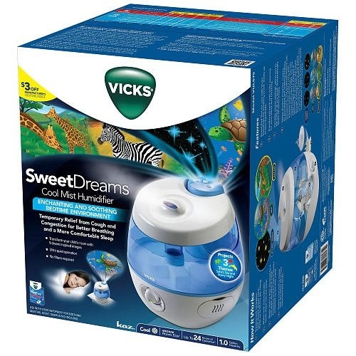 Vicks® Sweet Dreams Cool Mist Humidifier uploaded by caitlyn l.