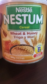 Nestlé® Nestum® Wheat & Honey Infant Cereal 10.5 oz. Canister uploaded by Yamilka V.