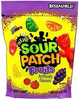 Sour Patch Fruits Soft & Chewy Candy uploaded by Nautica S.