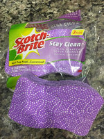 Scotch-Brite Stay Clean Scrub Sponge 2-Count (Pack of 6) uploaded by Stephanie S.