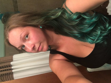 Photo of Jerome Russell Turquoise Semi-Permanent Punky Colour uploaded by Lauren W.