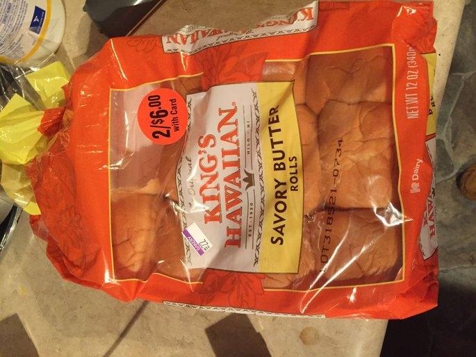 King's Hawaiian Original Hawaiian Sweet Rolls uploaded by Nancy C.