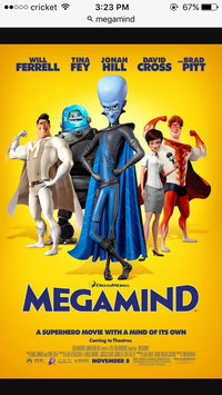 Photo of Megamind uploaded by Vanessa N.