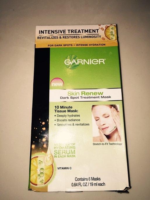 Garnier Skin Renew Dark Spot Treatment Mask - For Dark Spots and uploaded by Avion P.
