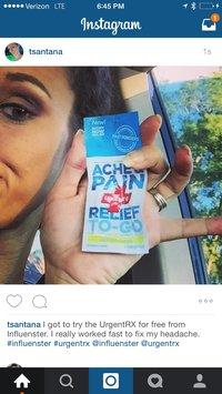UrgentRx® Headache Relief to Go Powders image uploaded by Tiffany S.