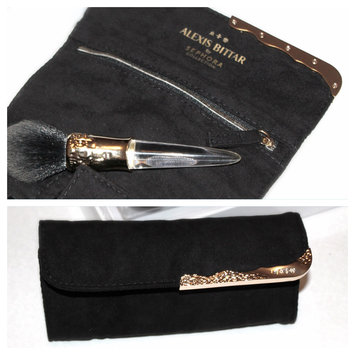 Photo of SEPHORA COLLECTION ALEXIS BITTAR LIQUID GOLD: BEAUTY BRUSH + TRAVEL WRAP uploaded by Maria R.