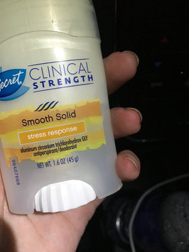 Photo of Secret Clinical Strength Clear Gel Women's Antiperspirant & Deodorant Stress Response uploaded by April W.