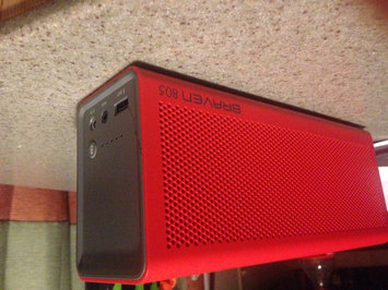 Photo of BRAVEN - 805 Portable Bluetooth Speaker - Red/Gray uploaded by Keana S.