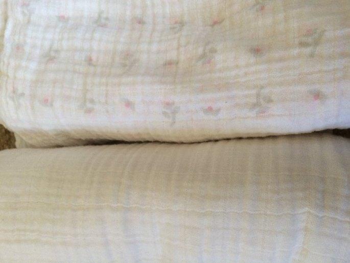 SwaddleDesigns 4pk Muslin Swaddle Blankets - Butterflies and Posies - uploaded by estela l.