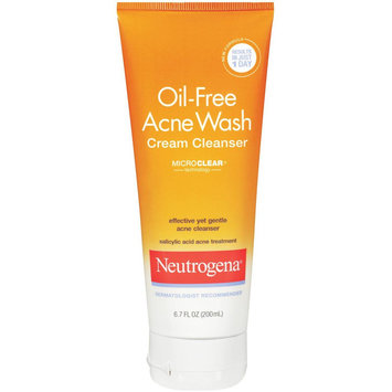 Photo of Neutrogena® Oil-Free Acne Wash Cream Cleanser uploaded by Momo K.