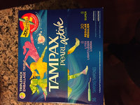 Tampax Pearl Active Light/Regular/Super Multipak - 36 Count uploaded by Sarah E.