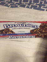 Little Debbie® Fudge Brownies With English Walnuts uploaded by Loreal H.
