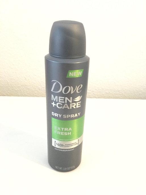 Photo of Dove Men+Care Dry Spray Antiperspirant, Extra Fresh, 3.8 oz uploaded by Kristen L.