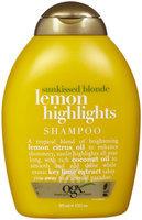 OGX Shampoo, Sunkissed Blonde Lemon Highlights uploaded by gabriella c.