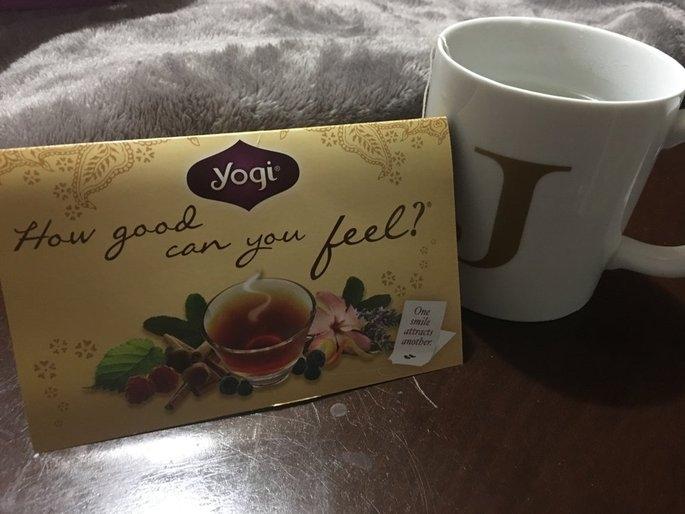 Yogi Tea Cinnamon Vanilla Healthy Skin uploaded by Jessica K.