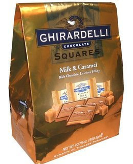 Ghirardelli Chocolate Squares Milk & Caramel uploaded by Whitney J.