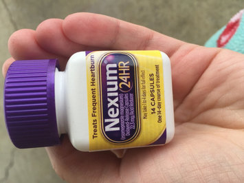 Photo of Nexium 24HR Capsules - 14 Count uploaded by Nancy C.