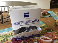 Zeiss Pre-Moistened Lens Cloths Wipes 400 Ct uploaded by Kristin C.