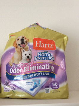 Hartz Home Protection Dog Pads Flash Dry Technology - 50 CT uploaded by Sarah P.