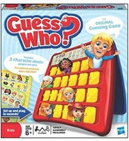 Hasbro Games Guess Who? uploaded by Vicky T.
