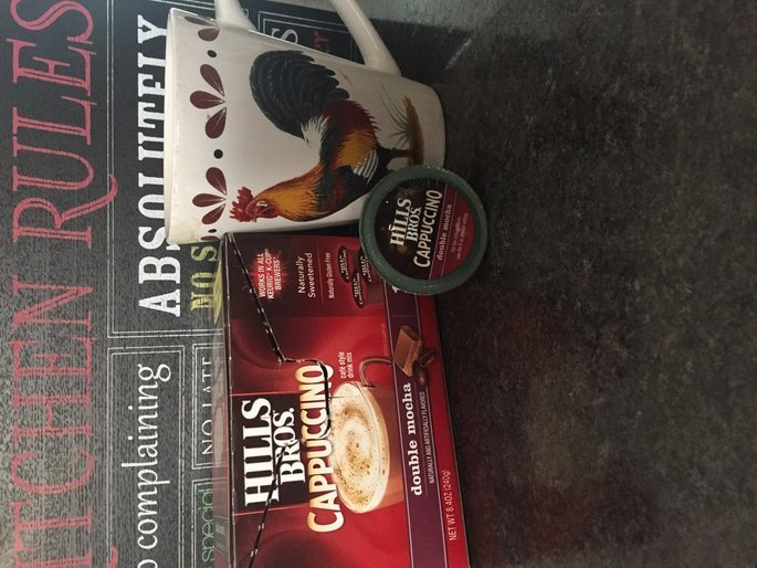 Hills Bros. Cappuccino Single Serve Cups, French Vanilla uploaded by Nikki j.
