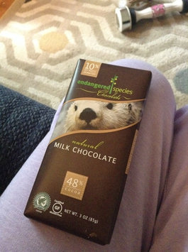 Endangered Species Chocolate Milk Chocolate Bar Natural - Otter uploaded by Candi E.