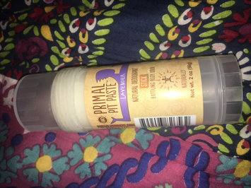 Primal Pit Paste Natural Deodorant Stick Lavender uploaded by Maddie S.