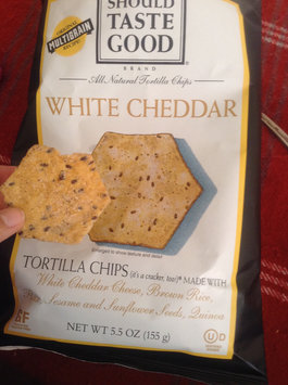 Photo of FoodShouldTasteGood White Cheddar Tortilla Chip, 5.5-Ounce Bags (Pack of 12) uploaded by Yari T.