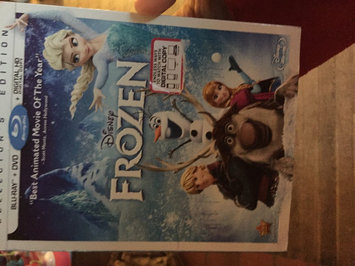 Frozen (Blu-ray + DVD + Digital HD) (Widescreen) uploaded by Nancy C.
