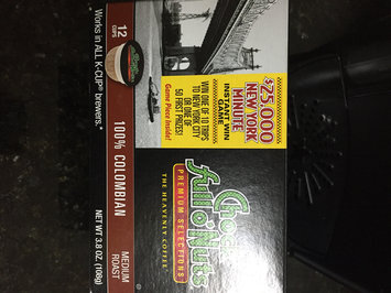 Photo of Chock Full O' Nuts 100% Colombian Coffee Medium Roast K-Cup Packs - 12 CT uploaded by Mesha W.