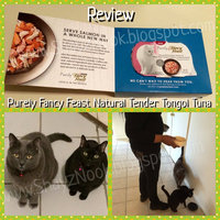 Purely Fancy Feast Natural Tender Tongol Tuna Entree Cat Food 2 oz. Tray uploaded by Avon S.