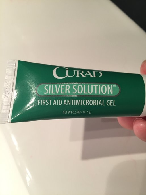 Curad Silver Solution Antimicrobial Gel, .5 Oz. uploaded by Tara s.
