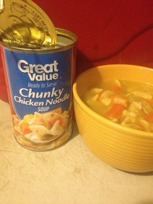 Great Value : Chunky Chicken Noodle Soup uploaded by Danielle S.