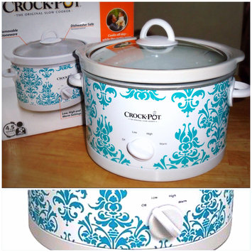 Photo of Crock Pot Crock-Pot Patterned Slow Cooker 4.5-qt. uploaded by Maria R.