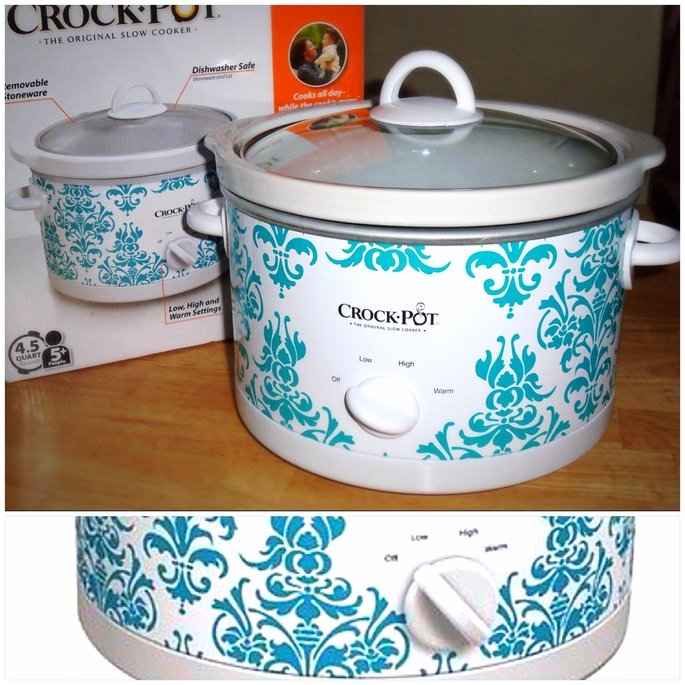 Crock Pot Crock-Pot Patterned Slow Cooker 4.5-qt. uploaded by Maria R.