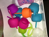 Boon SNUG 3 Pack Straw Lids with Cup - Orange/Green/Blue uploaded by Kathryn R.