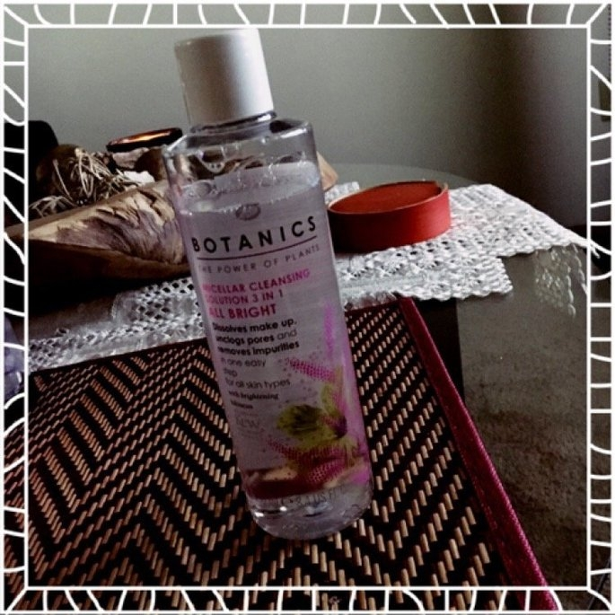 Boots Botanics All Bright Micellar 3 in 1 Cleansing Solution uploaded by Asel A.