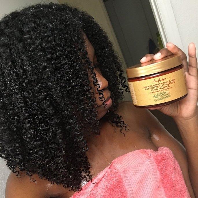 SheaMoisture Manuka Honey & Mafura Oil Intensive Hydration Hair Masque uploaded by Applez M.