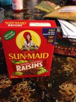 Sun-Maid Natural California Raisins uploaded by sharee b.