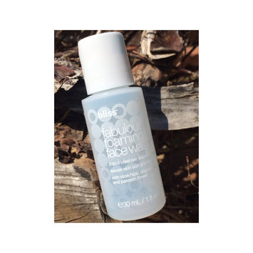 Photo of Bliss Fabulous Foaming Face Wash  uploaded by Marie T.