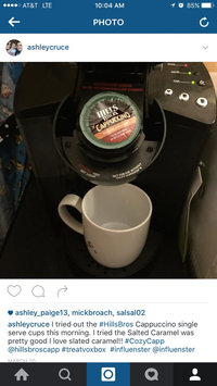 Photo of Hills Bros. Cappuccino Single Serve Cups, Salted Caramel uploaded by Ashley C.