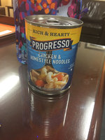 Progresso™ Rich & Hearty Chicken & Homestyle Noodles Soup uploaded by Laura R.