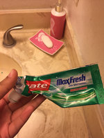 Colgate® MaxFresh® WITH MINI BREATH STRIPS Clean Mint Fluoride Toothpaste uploaded by Nancy A.