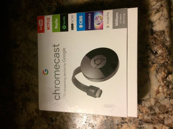 Chromecast uploaded by Ashley G.