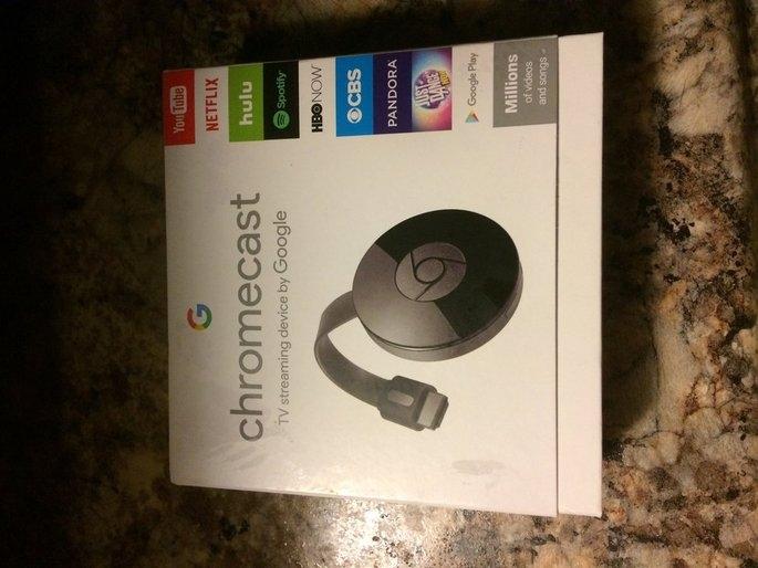 Chromecast uploaded by Ashley G.