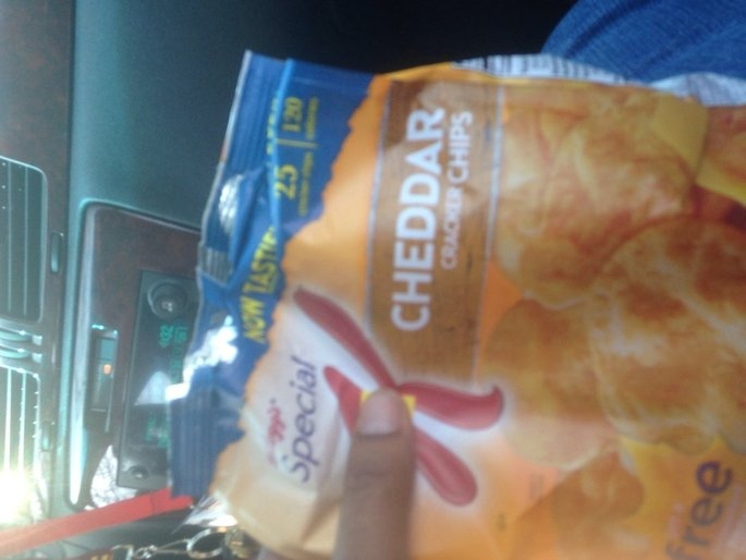 Kellogg's® Special K® Cheddar Cracker Chips uploaded by Latanya C.