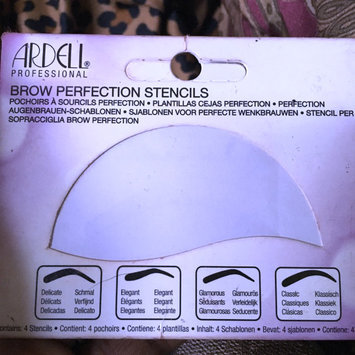 Photo of Ardell Brow Perfection Stencils (Contains 4 Stencils) uploaded by Jeannee G.